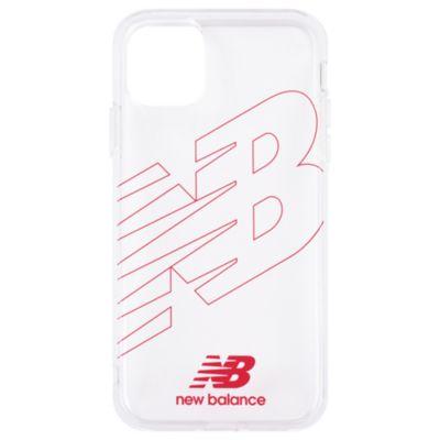 New Balance iPhone11 TPUクリアケース フライングロゴ