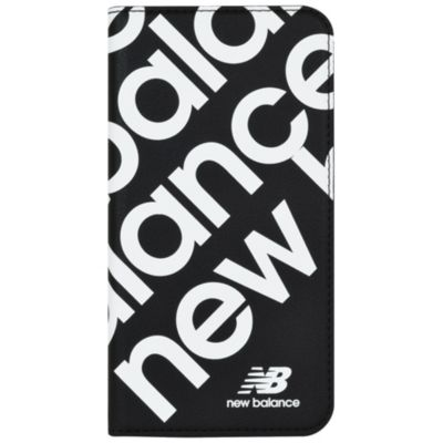 New Balance iPhone11 スリム手帳ケース スタンプロゴ