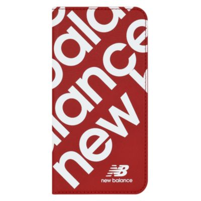 New Balance iPhone11Pro スリム手帳ケース スタンプロゴ